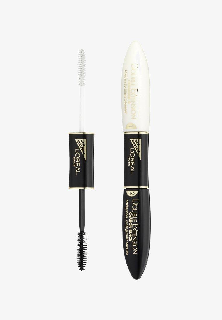 L'Oréal Paris - DOUBLE EXTENSION MASCARA - Mascara - carbon black