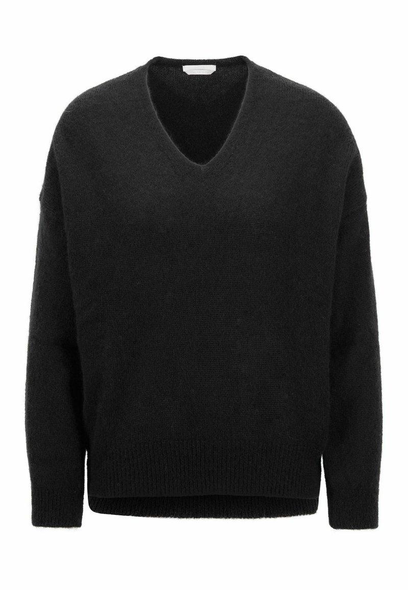 BOSS - FILLALLON - Pullover - black