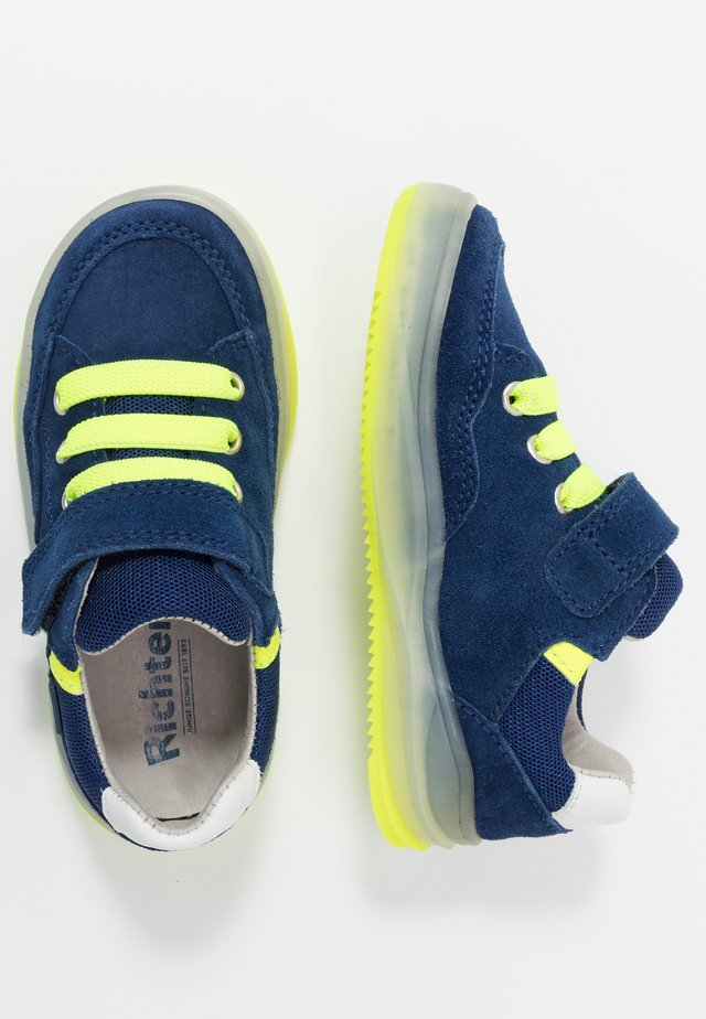 Trainers - nautic/atlant/yellow