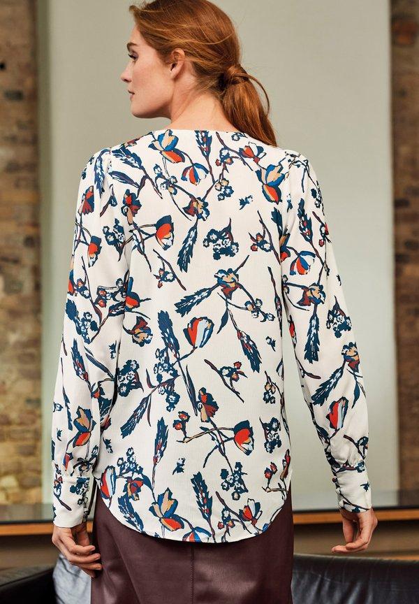 Next KEYHOLE - Bluzka z długim rękawem - white/biały TGPD