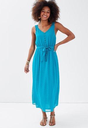 Korte jurk - vert turquoise