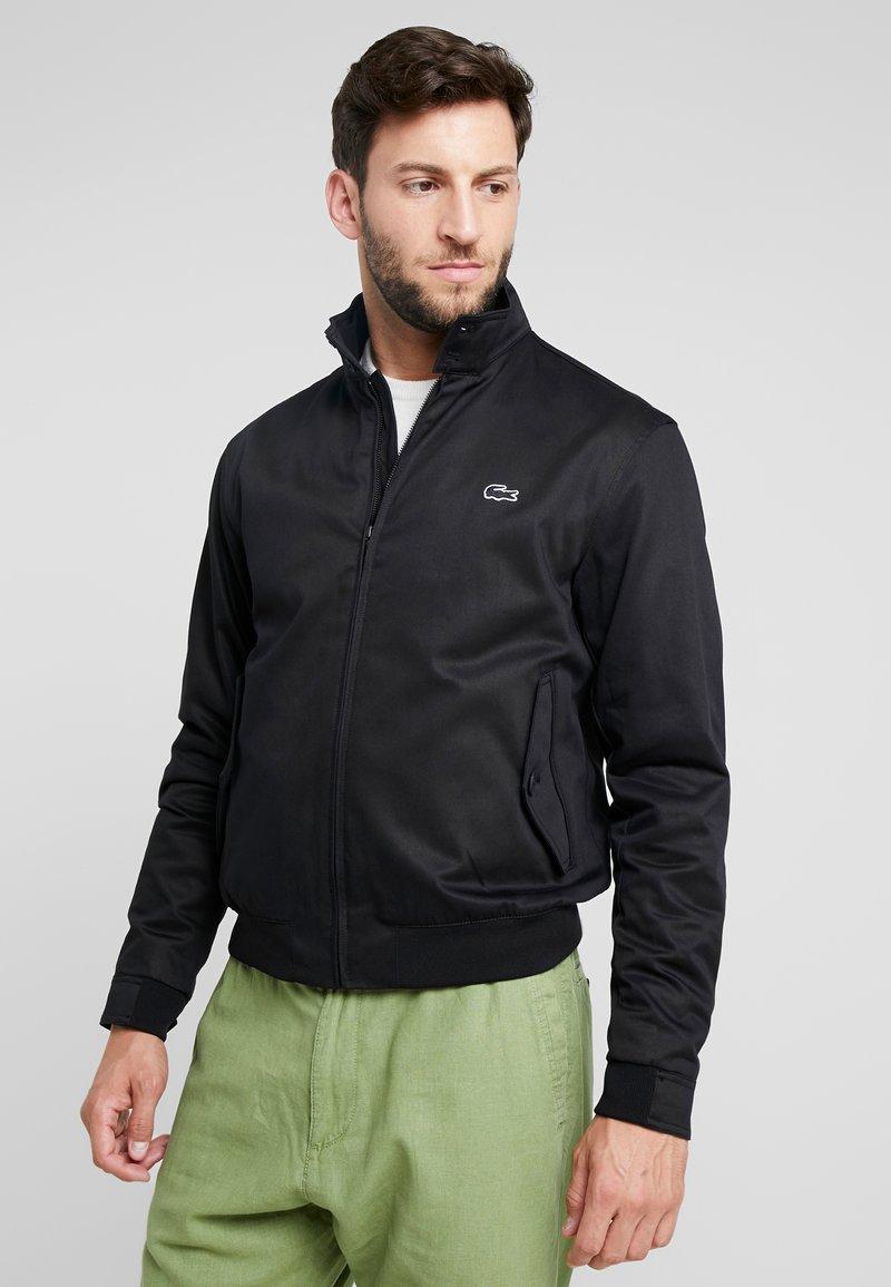 Lacoste - Lehká bunda - black