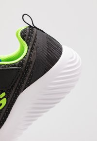 Skechers - BOUNDER - Trainers - black/blue/lime - 2