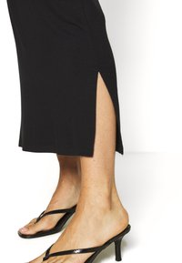 Even&Odd - BASIC - Maxi skirt - Maxi skirt - black - 3