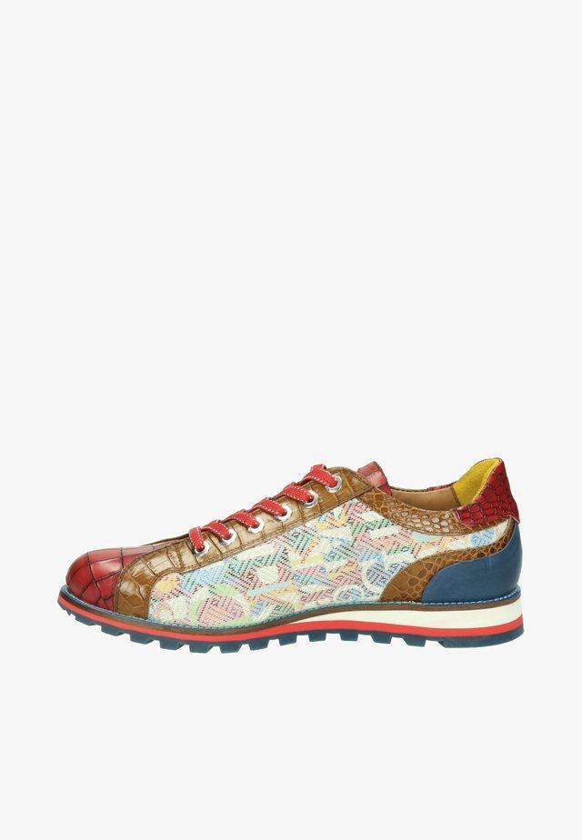 Sportieve veterschoenen - rood
