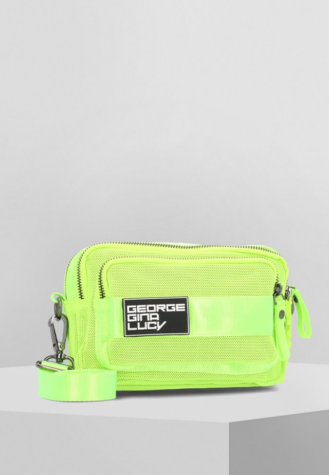 LOVE LETTERS  - Across body bag - neon yellow