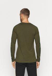SQUATWOLF - LIMITLESS FULL SLEEVES TEE - Long sleeved top - khaki - 2