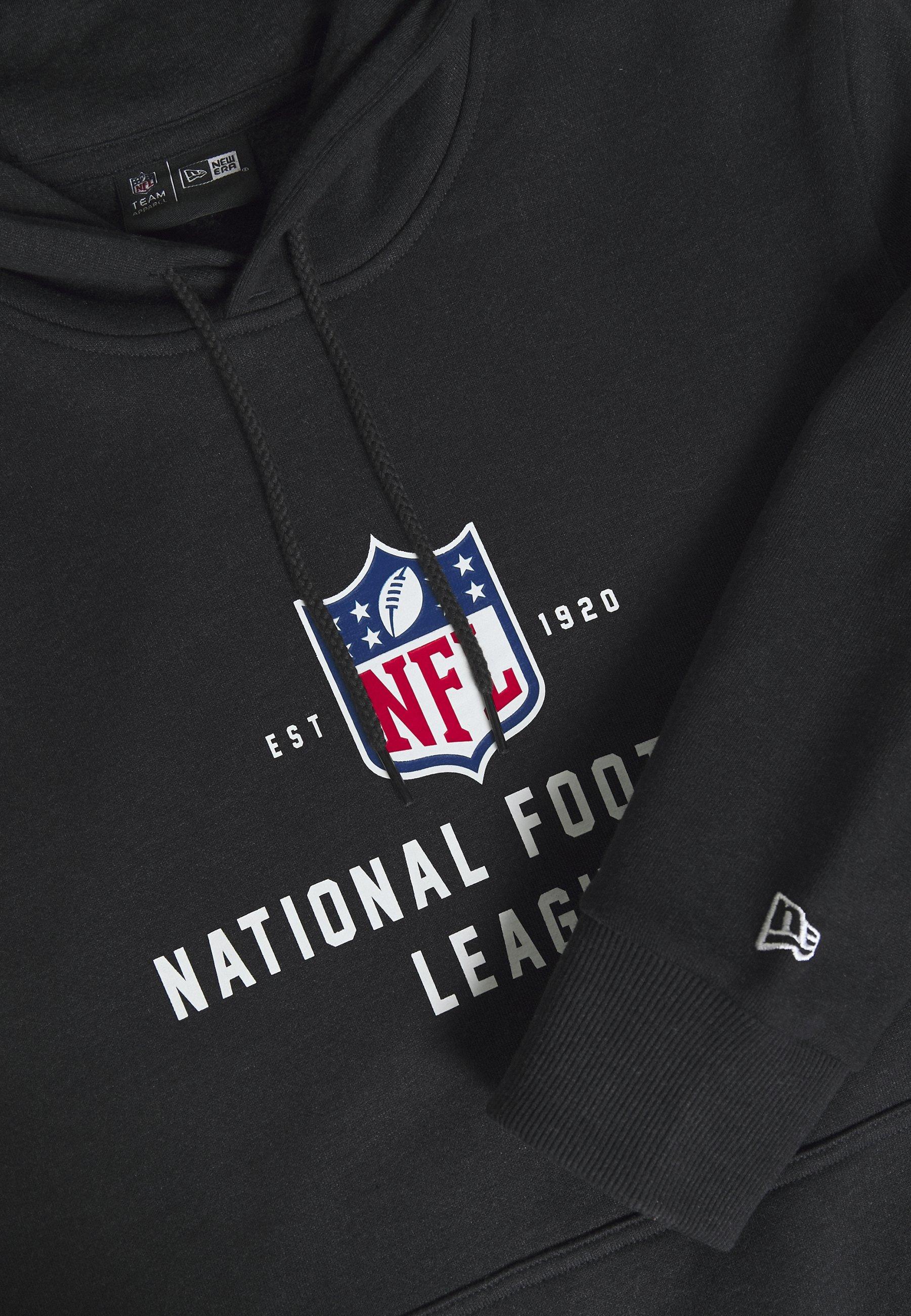 New Era NFL LEAGUE ESTABLISHED HOODY - veste en sweat zippée - black