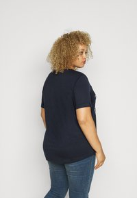 Lauren Ralph Lauren Woman - HAILLY SLEEVE - Print T-shirt - navy - 2