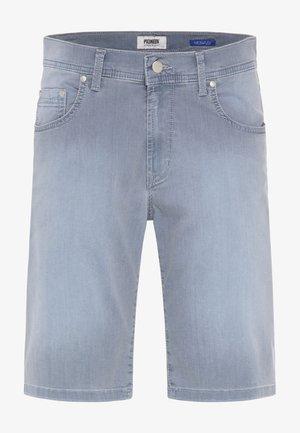 Denim shorts - stone used