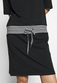 Esprit - RETRO DRESS - Sukienka letnia - black - 5