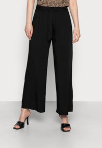 edc by Esprit - PANTS WOVEN - Trousers - black - 0