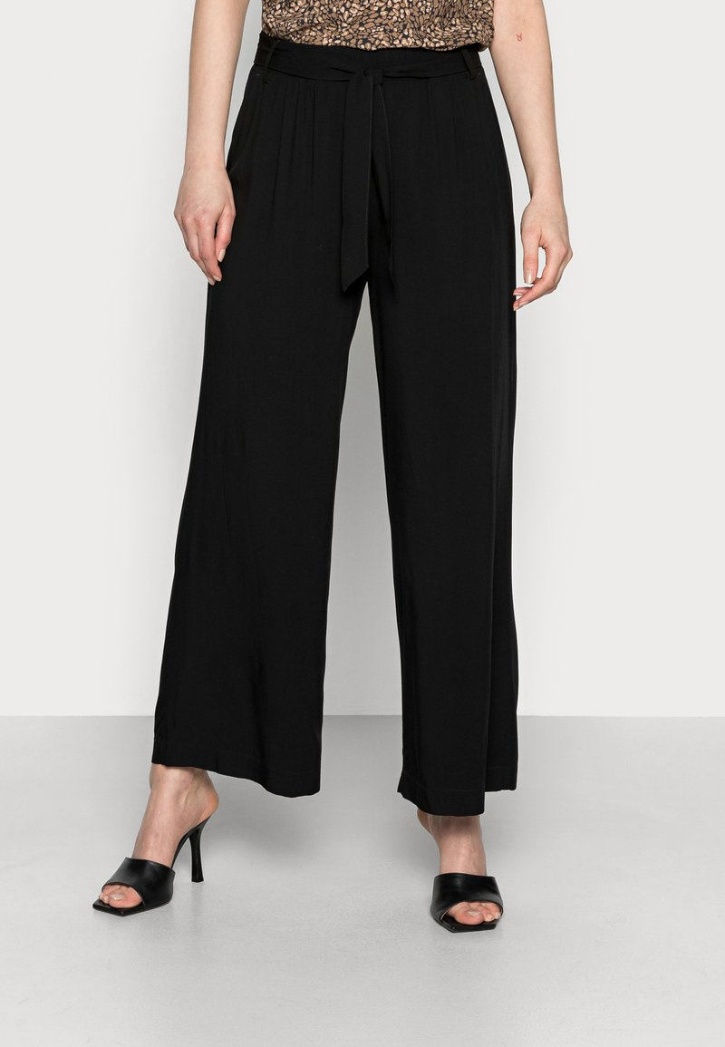 edc by Esprit - PANTS WOVEN - Trousers - black