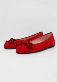Pretty Ballerinas - ANGELIS - Baleriny - red - 4