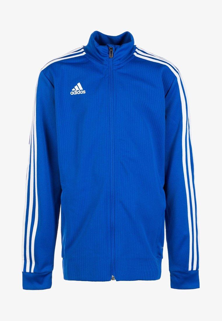 adidas Performance - TIRO 19 TRAINING TRACK TOP - Training jacket - bold blue/dark blue/white