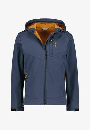 BREST - Soft shell jacket - marine