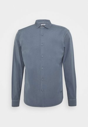 SUSTAINABLE ALPHA SPREAD COLLAR - Camisa - navy smoke