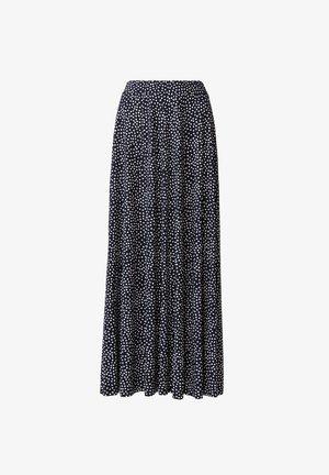 OLIVARA - A-line skirt - dkblue