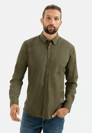 Overhemd - olive brown