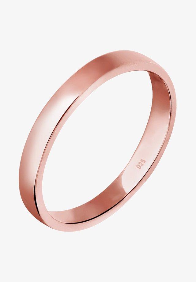 KLASSISCHER - Ring - roségoldfarben