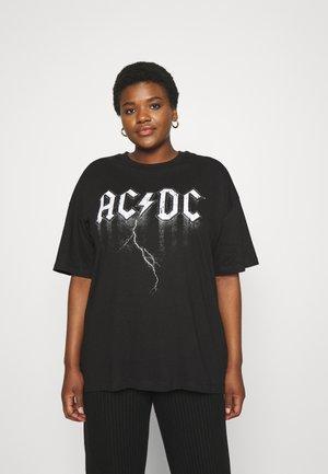 OVERSIZED LICENSE TEE - T-shirts print - black