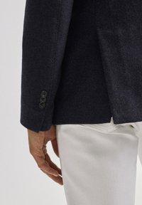Massimo Dutti - SLIM-FIT - Blazer jacket - blue - 4
