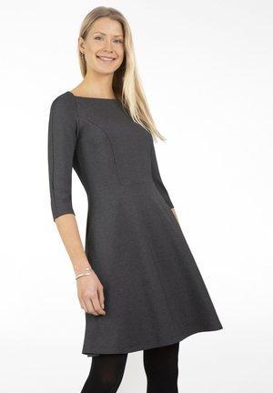 Jersey dress - anthrazit melange