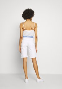 Esprit - Denim shorts - white - 2
