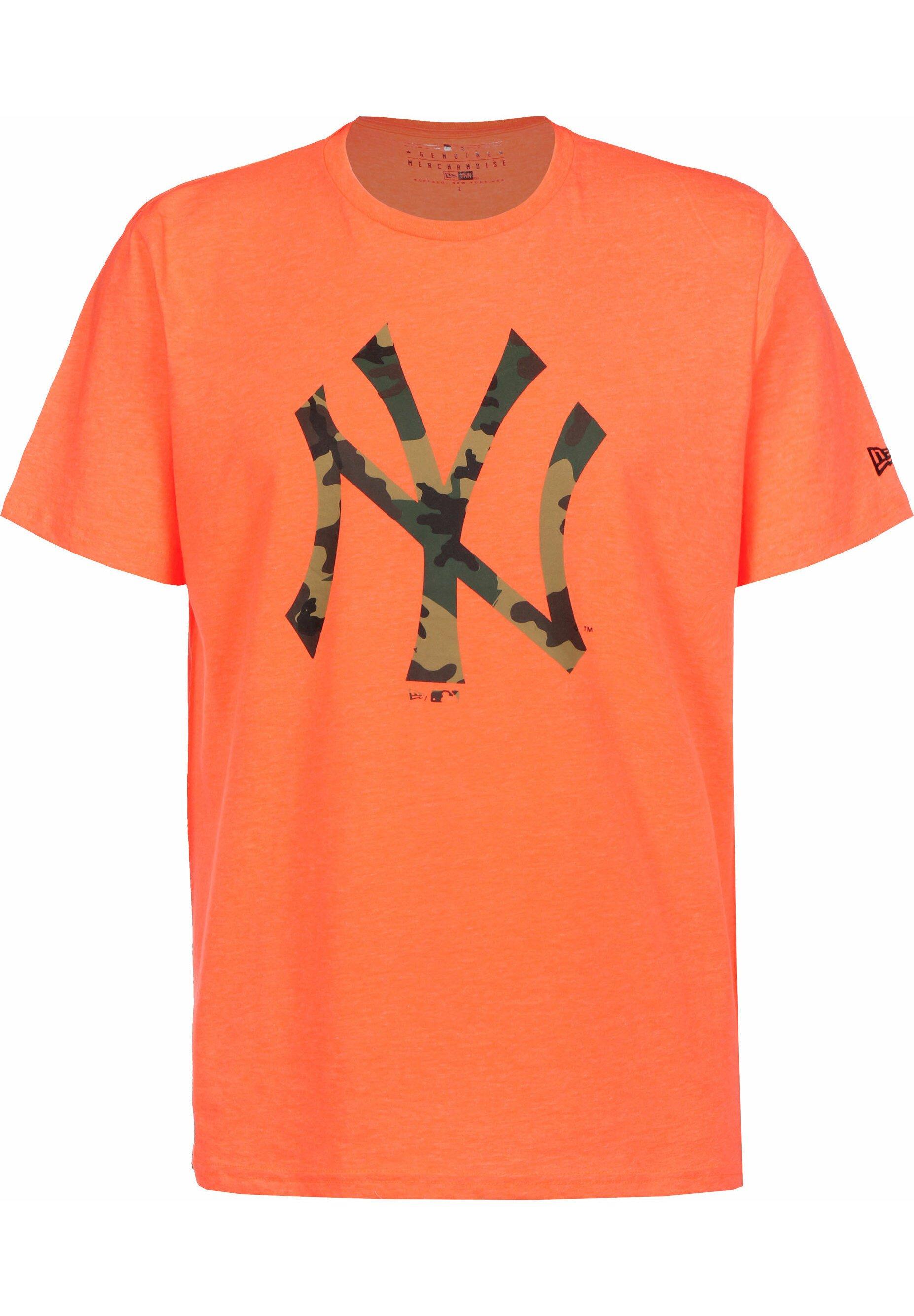 Herren MLB INFILL TEAM LOGO TEE NEW YORK YANKEES - T-Shirt print