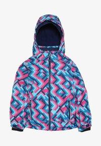 Kamik - TESSIE GRID - Vinterjacka - turquoise/neon pink - 4