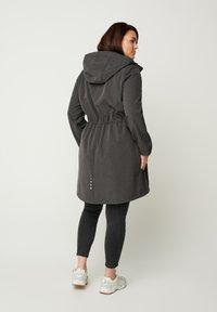 Zizzi - Outdoor jacket - dark grey - 1