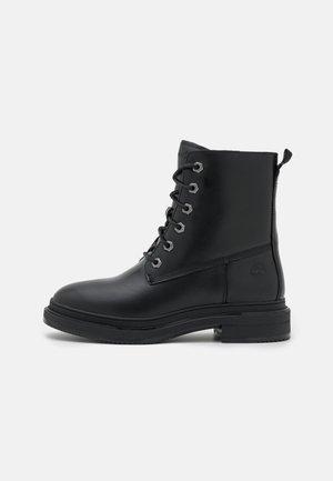 LISBON LANE WARM BOOT - Lace-up ankle boots - black