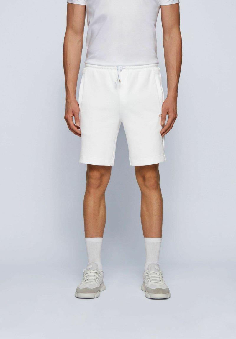 BOSS - HEADLO  - Trainingsbroek - white