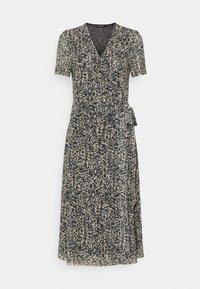 Soaked in Luxury - LOURDES WRAP DRESS - Day dress - beige - 6