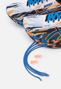 ASICS - NOOSA TRI 13 - Competition running shoes - white/shocking orange - 5