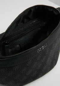 Guess - CITY LOGO  - Bum bag - black - 4