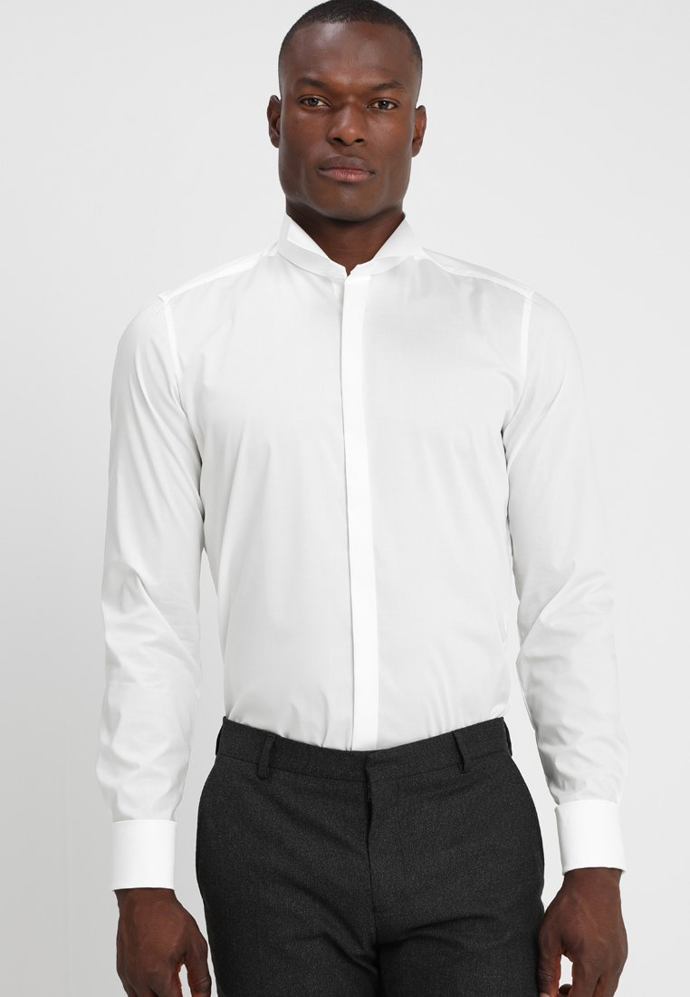 OLYMP Level Five - BODY FIT - Formal shirt - off-white