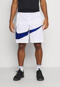 Nike Performance - DRY SHORT PRINT - Sports shorts - white/game royal - 0