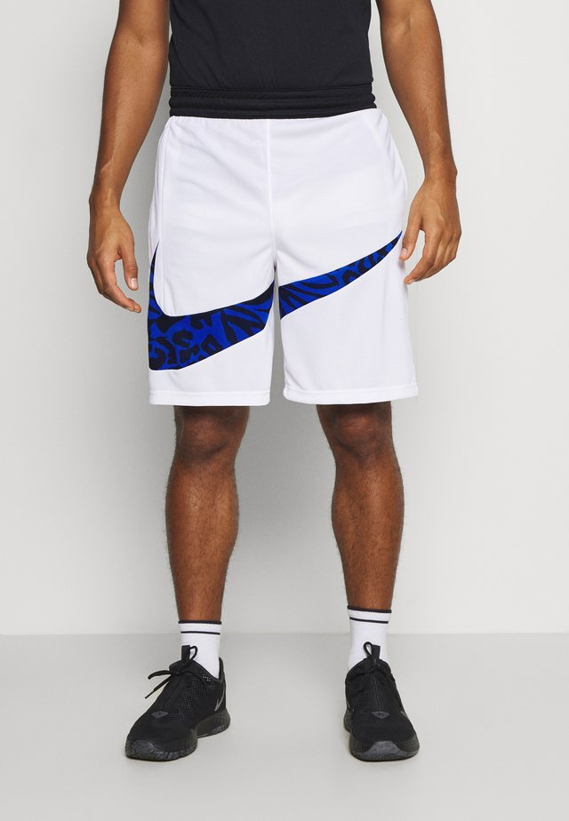 DRY SHORT PRINT - Short de sport - white/game royal