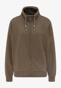 DreiMaster - Zip-up hoodie - militäroliv - 4