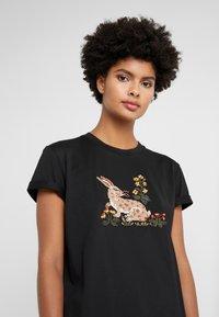 Vivetta - T-shirt con stampa - black - 3
