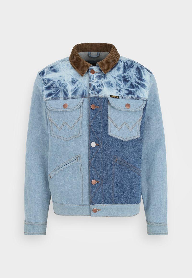 Billabong - BILLABONG X WRANGLER TEAM RANCH MIXUP  - Denim jacket - salt