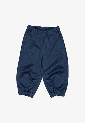 Trousers - blue melange