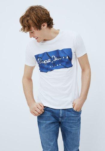 RAURY - T-shirt med print - azul