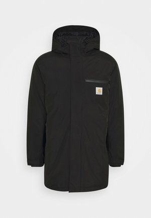 GORE TEX LONG JACKET - Winter coat - black