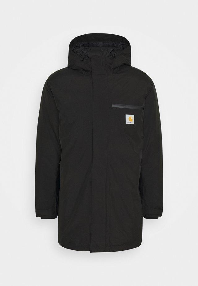 GORE TEX LONG JACKET - Winter coat - black