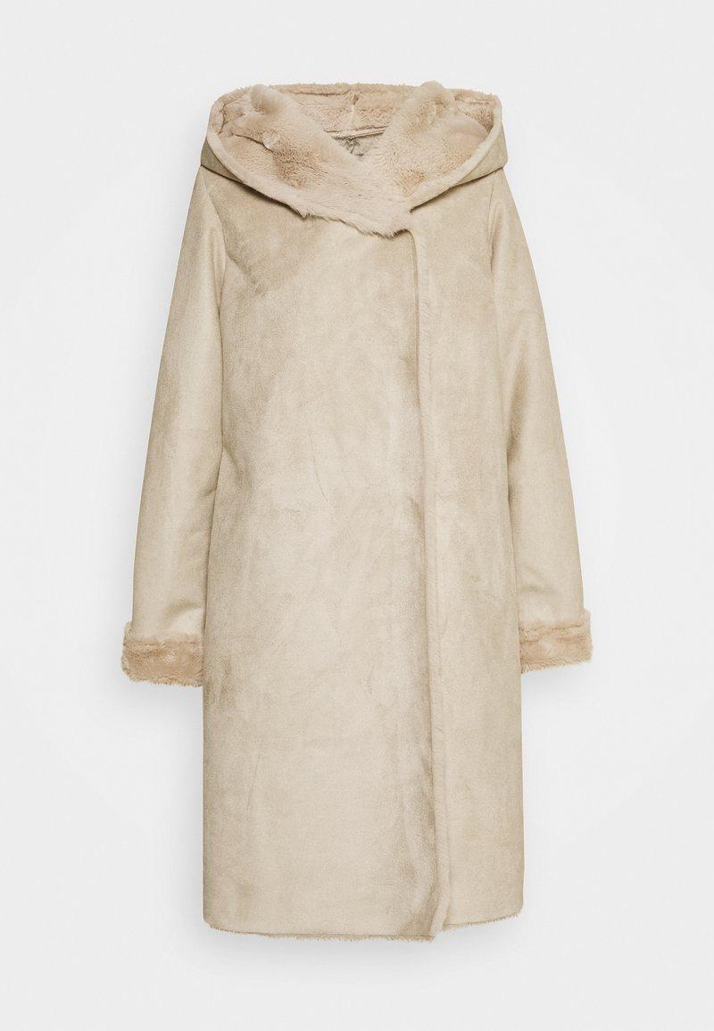 Derhy - SALABAGUE VESTE - Manteau classique - beige