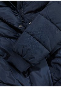 s.Oliver - MIT FAKE FUR-FUTTER - Winter jacket - dark blue - 3