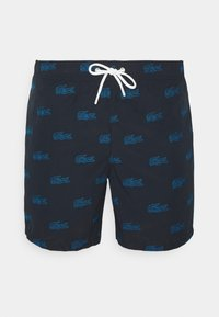 Lacoste - Badeshorts - abysm/turquin blue - 4