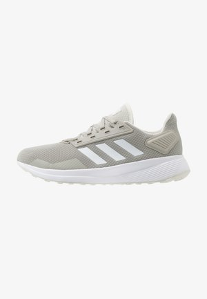 DURAMO 9 - Obuwie do biegania treningowe - metallic grey/footwear white/grey